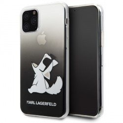 Karl Lagerfeld Choupette Fun Hülle KLHCN65CFNRCBK iPhone 11 Pro Max Schwarz