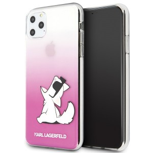Karl Lagerfeld Choupette Fun Hülle KLHCN65CFNRCPI iPhone 11 Pro Max pink
