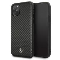 Mercedes Benz Dynamic Carbon Hülle MEHCN58SRCFBK iPhone 11 Pro Schwarz