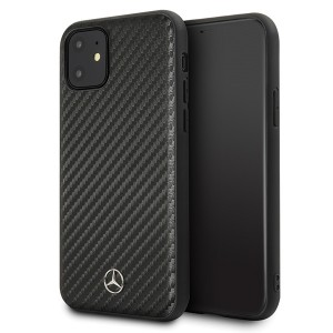 Mercedes Benz Dynamic Carbon Hülle MEHCN61SRCFBK iPhone 11 Schwarz