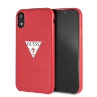 Guess GUHCI61PTPURE Triangle Hülle iPhone XR Rot