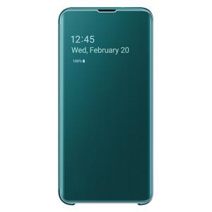 Original Samsung Clear View Cover EF-ZG970CG Galaxy S10e G970 grün