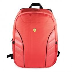 "Ferrari Notebook / Laptop Rucksack On Track Scuderia Carbon 15"" Rot"