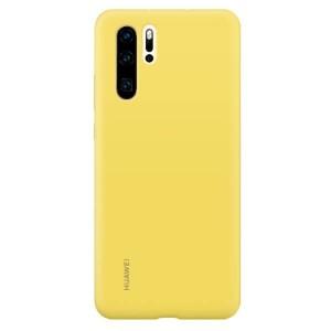 Original Huawei Silicone Case P30 Pro Gelb