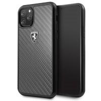 Ferrari Heritage Carbon Hülle FEHCAHCN58BK iPhone 11 Pro schwarz