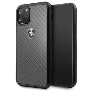 Ferrari Heritage Carbon Schutzhülle iPhone 11 Pro schwarz FEHCAHCN58BK