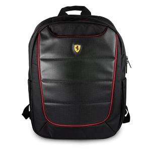 """Ferrari Laptop / Notebook Rucksack Pit Stop Scuderia 15"""" schwarz"""