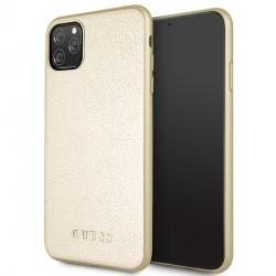 Guess Iridescent Hülle GUHCN65IGLGO iPhone 11 Pro Max Gold