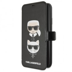 Karl Lagerfeld Karl & Choupette Tasche KLFLBKSN65FKICKC iPhone 11 Pro Max Schwarz