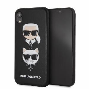 Karl Lagerfeld Karl & Choupette Hülle KLHCI61KICKC iPhone Xr Schwarz