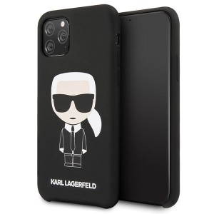 Karl Lagerfeld Silicone Iconic Hülle KLHCN58SLFKBK iPhone 11 Pro