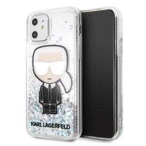 Karl Lagerfeld Glitter Iridescent Karl Hülle KLHCN61LGIRKL iPhone 11