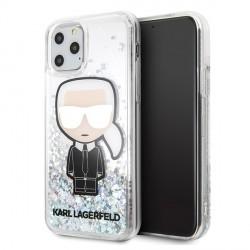 Karl Lagerfeld Glitter Iridescent Karl Hülle KLHCN65LGIRKL iPhone 11 Pro Max