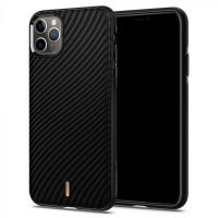 Spigen Ciel Hülle iPhone 11 Pro Max Wave Shell schwarz