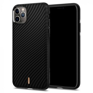 Spigen Ciel Hülle iPhone 11 Pro Wave Shell schwarz