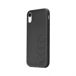 AUDI iPhone SE 2020 / iPhone 8 / 7 Lederhülle Kollektion TT schwarz
