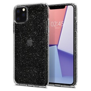 Spigen Liquid Crystal Glitter Hülle iPhone 11 Pro Max Clear