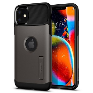 Spigen Slim Armor SGP Hülle iPhone 11 gun metal