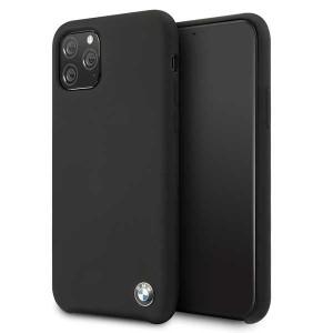BMW Silicon Schutzhülle iPhone 11 Pro schwarz BMHCN58SILBK