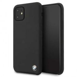 BMW Silicon Schutzhülle iPhone 11 schwarz BMHCN61SILBK