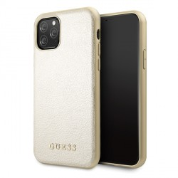 Guess Iridescent Hülle iPhone 11 Gold GUHCN61IGLGO