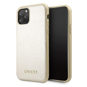 Guess Iridescent Case GUHCN58IGLGO iPhone 11 Pro gold