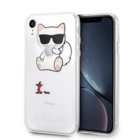 Karl Lagerfeld Choupette Fun Hülle KLHCI61CFA iPhone Xr Transparent