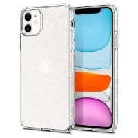 Spigen Liquid Crystal Glitter Hülle iPhone 11 Clear
