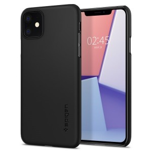 Spigen Thin Fit Hülle iPhone 11 schwarz