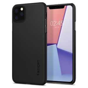 Spigen Thin Fit Hülle iPhone 11 Pro Max schwarz