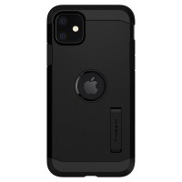 Spigen Tough Armor Hülle iPhone 11 schwarz