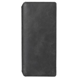 Krusell Ledertasche Sony Xperia 5 Sunne Wallet Flip Case Vintage Schwarz