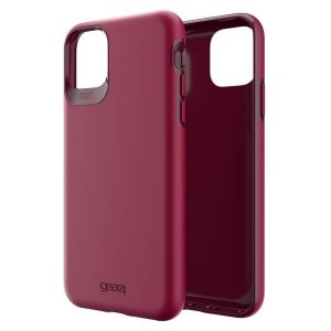 Gear4 D3O Holborn Hülle iPhone 11 Pro Max Rot