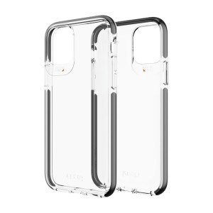 Gear4 D3O Piccadilly Hülle iPhone 11 Pro Transparent / Schwarz