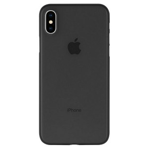 Mercury Ultra Dünn Hülle iPhone SE 2020 / iPhone 8 / 7 0.6mm schwarz