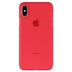 Mercury Ultra Dünn Hülle iPhone SE 2020 / iPhone 8 / 7 0.6mm Rot