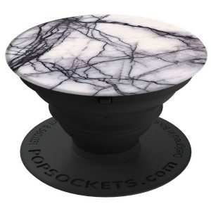 PopSockets White Marble 101178 Stand / Grip / Halter