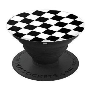 Popsockets Checker Black 800155 Stand / Grip / Halter