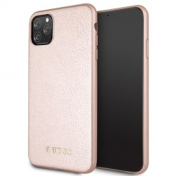 Guess Iridescent Hülle GUHCN65IGLRG iPhone 11 Pro Max Rose Gold