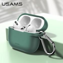 USAMS Schutzhülle für AirPods Pro Silikon grün BH568AP05 US-BH568