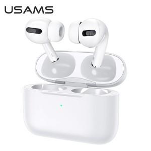 USAMS Bluetooth 5.0 TWS Emall Series Kopfhörer kabellos weiß BHUYM01