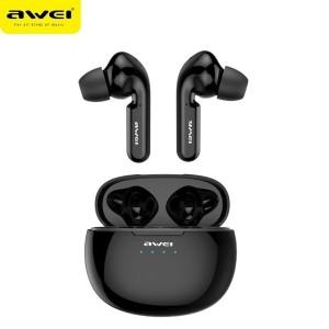 AWEI Bluetooth 5.0 T15 TWS Kopfhörer + Dockingstation schwarz