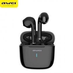 AWEI Bluetooth 5.0 T26 TWS Kopfhörer + Dockingstation schwarz
