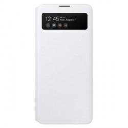 Original Samsung EF-EA515PW S View Wallet Cover Galaxy A51 A515 weiß