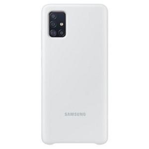 Original Samsung Silikonhülle EF-PA515TW A51 A515 weiß