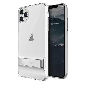 UNIQ Hülle Cabrio iPhone 11 Pro Max Transparent mit Ständer