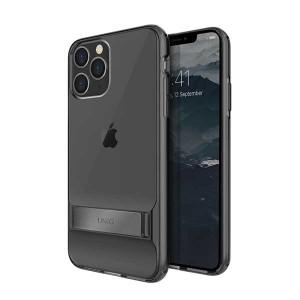 UNIQ Hülle Cabrio iPhone 11 Pro Grau mit Ständer