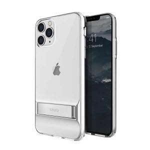UNIQ Hülle Cabrio iPhone 11 Pro transparent mit Ständer