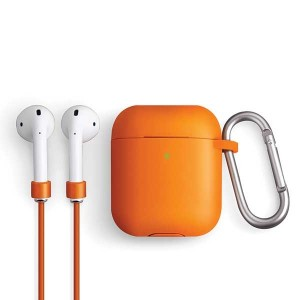 UNIQ Vencer Sport Silicone Schutzhülle AirPods 1 / 2 Generation orange