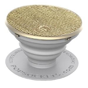 Popsockets Premium Saffiano Gold 800104 Stand / Grip / Halter